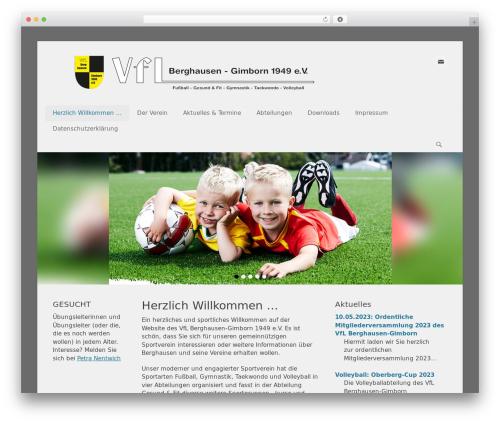 Catch Base Pro premium WordPress theme - vflberghausen.de