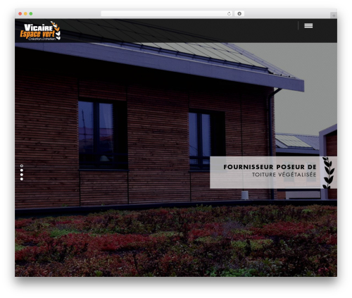 Domik WordPress theme - vicaire-espacevert.com