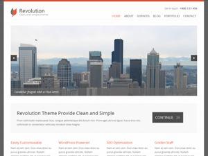 Revolution personal WordPress theme