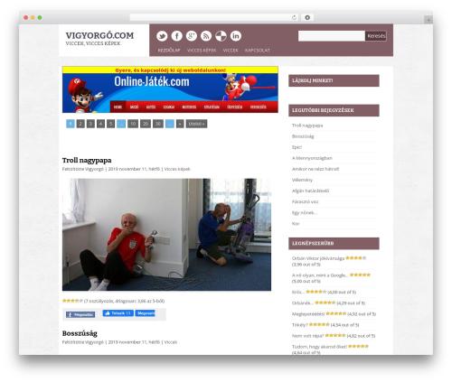 Theme WordPress Yasmin - vigyorgo.com