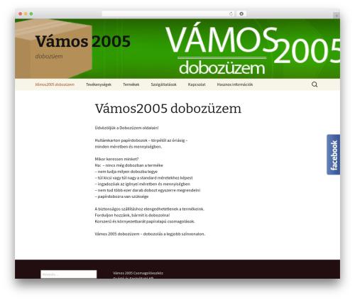 Twenty Thirteen theme WordPress free - vamos2005.hu