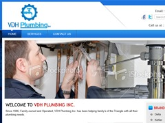 vdhplumbing WordPress theme