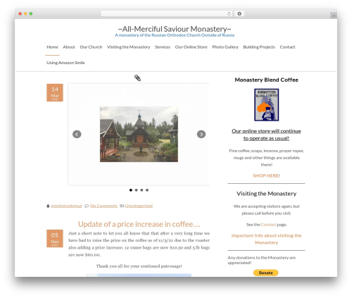 ZenEarth free WordPress theme - vashonmonks.com