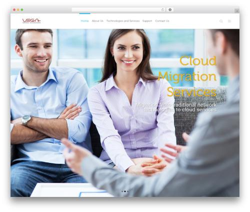 Eden business WordPress theme - vegabiztech.com