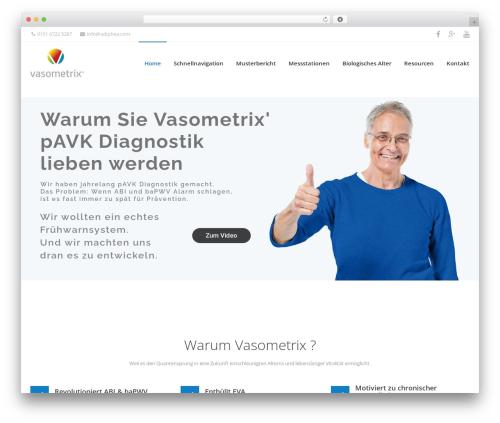 iMedica WordPress theme - vasometrix.com