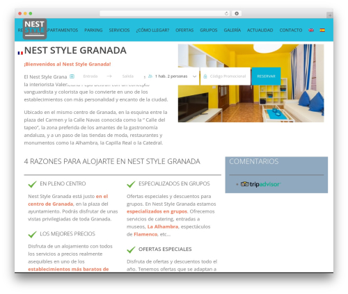 jupiter WordPress theme - neststylegranada.com