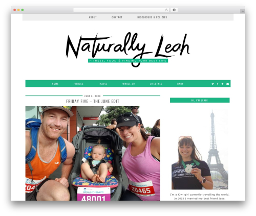 London Calling (pipdig) template WordPress - naturallyleah.com