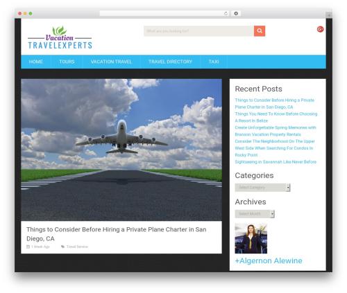 SociallyViral by MyThemeShop WordPress ecommerce theme - vacationtravelexperts.org
