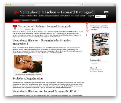 Stardust WP template - verzauberte-haeschen.com