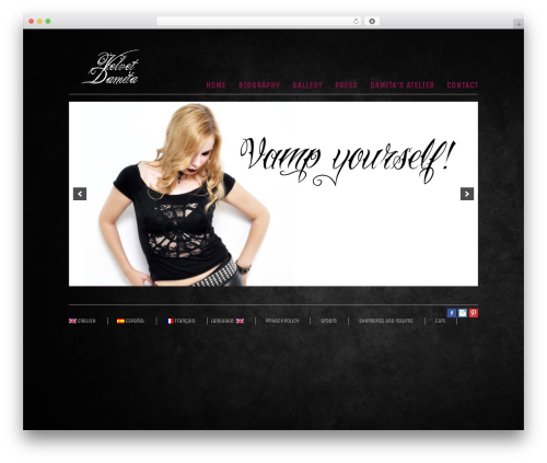 Theme WordPress Rustik 3 - velvetdamita.com