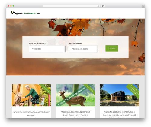 AgentPress Pro Theme best WordPress template - vakantieaccommodaties.info
