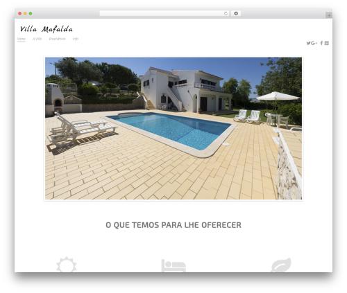 cherry WordPress theme - villamafalda.pt