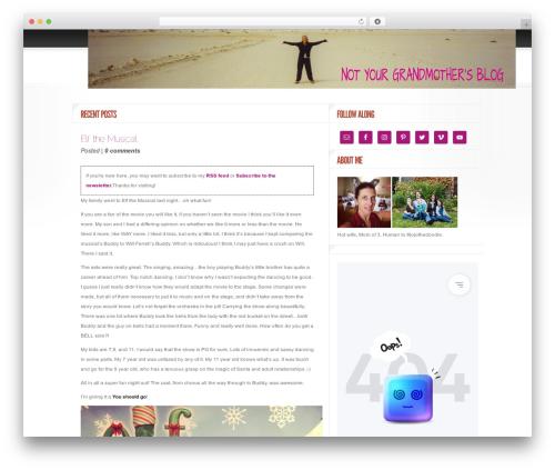 Delicate News WordPress news theme - violacay.com