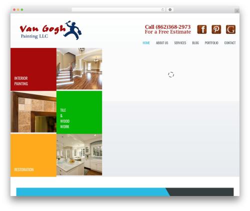 Klasik WP template - vangoghpaints.com
