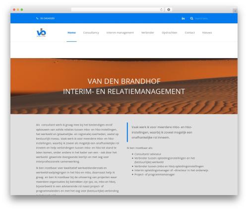 Maskitto Light WordPress theme free download - vandenbrandhof.org