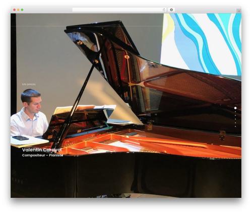 Movedo WordPress theme - valentincarayol.com