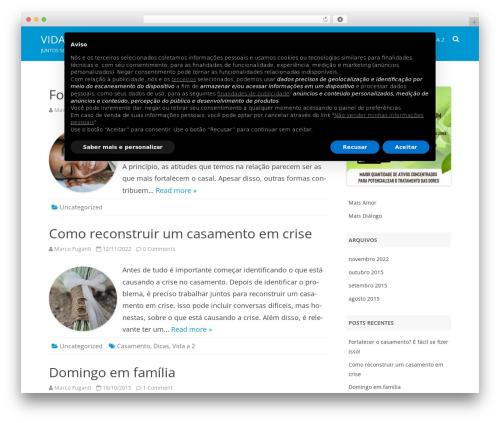 RubberSoul template WordPress free - vidaa2.com.br