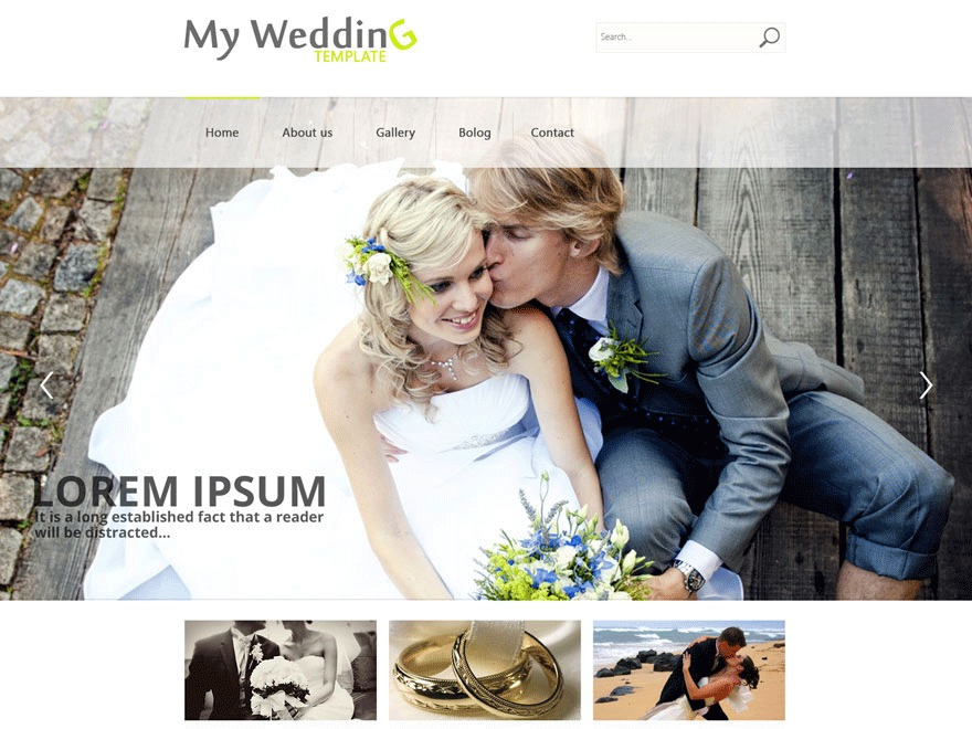 Weddings best WordPress gallery