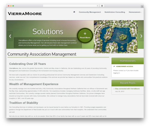 WordPress theme Ximenia - vierramoore.com