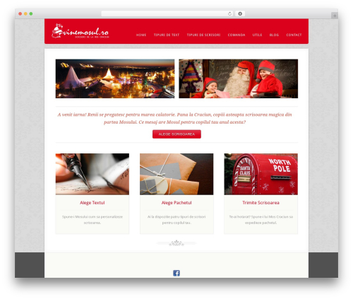 Acoustic WordPress page template - vinemosul.ro