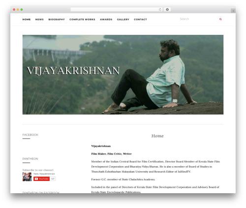 Activello best free WordPress theme - vijayakrishnan.com