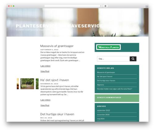 Chandigarh free WordPress theme - nje-planteservice.dk