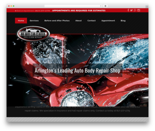 Nuway template WordPress - nuwaycarcenter.com