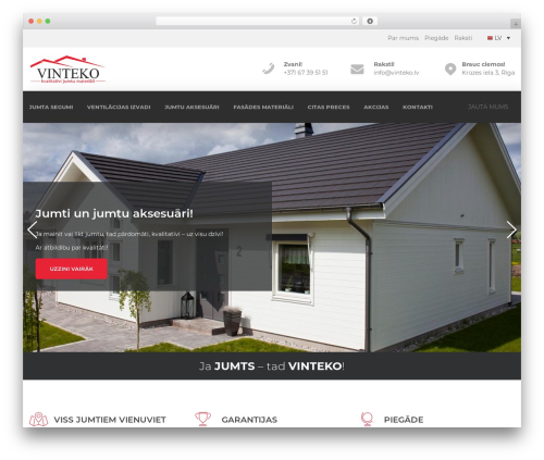 Template WordPress Handel - vinteko.lv