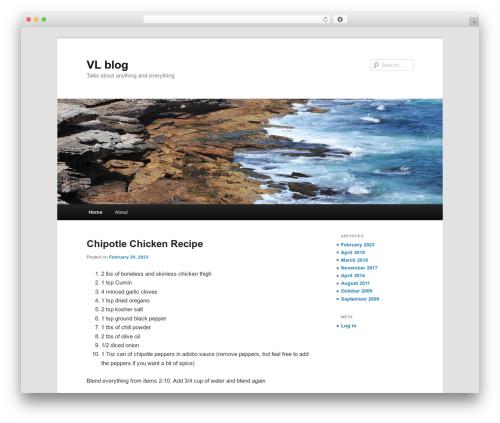 Twenty Eleven WordPress template free download - victorleung.com