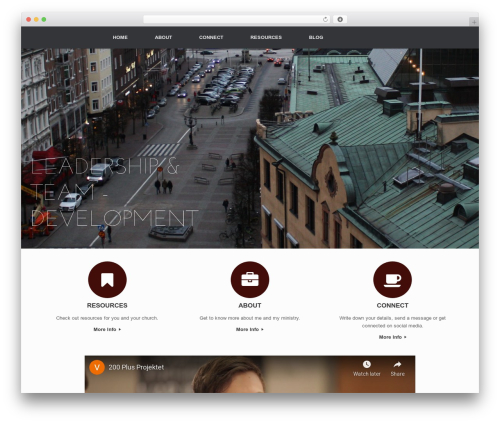 Vantage WordPress template free download - victorforssman.com