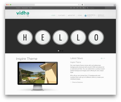 WordPress theme Inspire - vendaimoveisfloripa.com