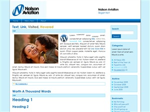Best WordPress theme nalson2