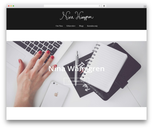 Best WordPress theme Sydney - ninawanggren.se
