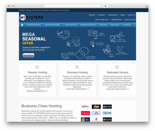 iFeature Pro 5 template WordPress - nysystems.in