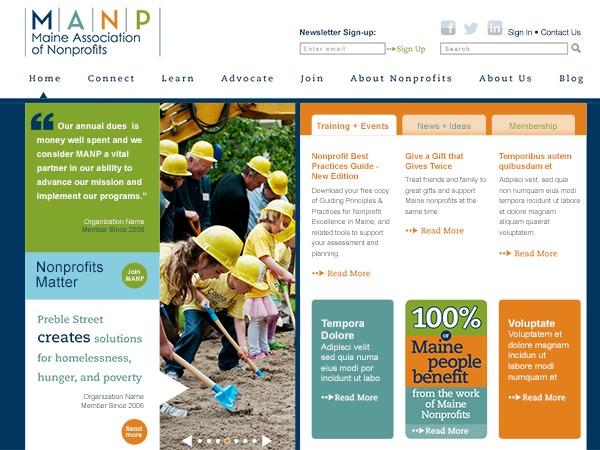 MANP Custom Theme WordPress theme