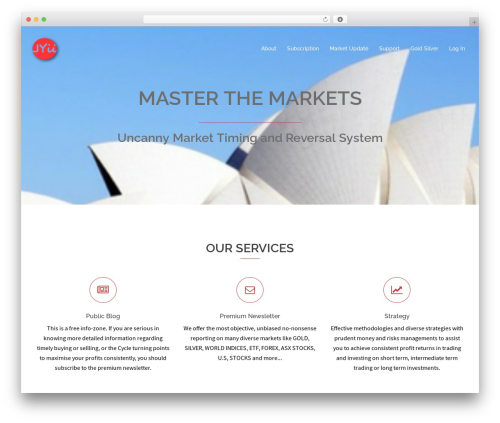 Sydney free website theme - johnyii.com