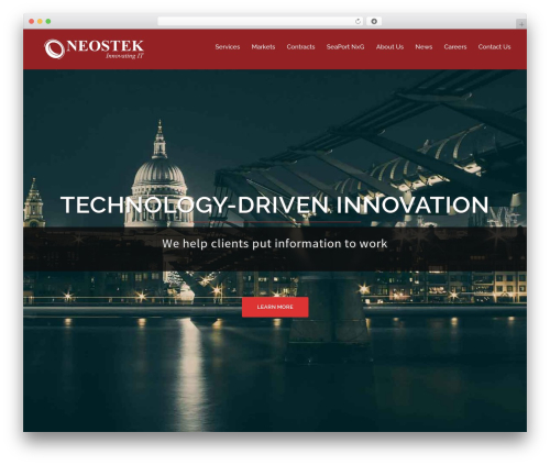 WordPress theme Sydney - neostek.com