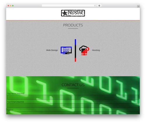 AccessPress Parallax WP theme - vinnyd.co.za