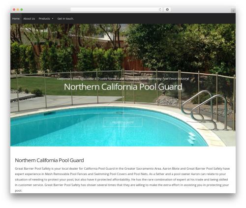 Form WordPress website template - northerncapoolfence.com