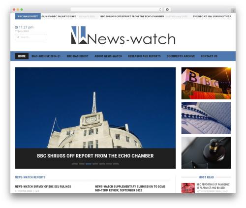 Headline News WordPress news template - news-watch.co.uk