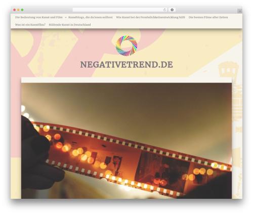 MayaSilk top WordPress theme - negativetrend.de
