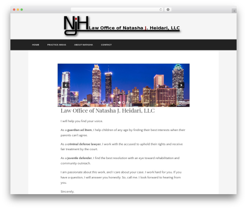 Museum WordPress theme - njhlawoffice.com