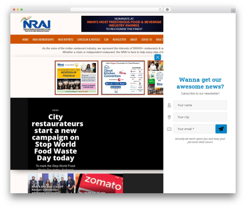 Osage best restaurant WordPress theme - nrai.org