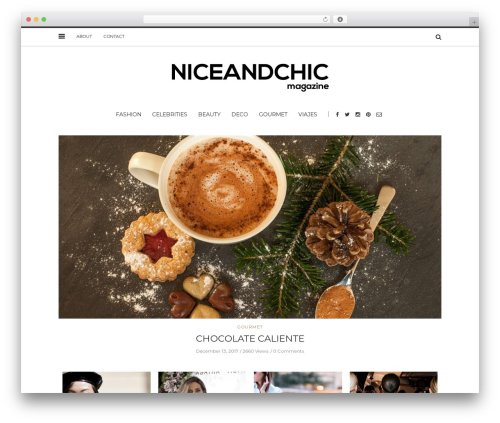 Solstice WordPress theme - niceandchic.com