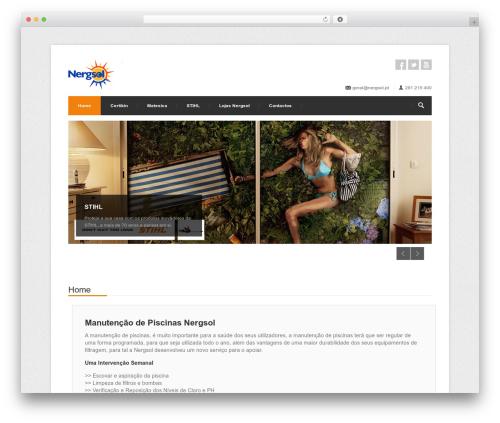 Template WordPress Centum WP (shared on themelock.com) - nergsol.pt