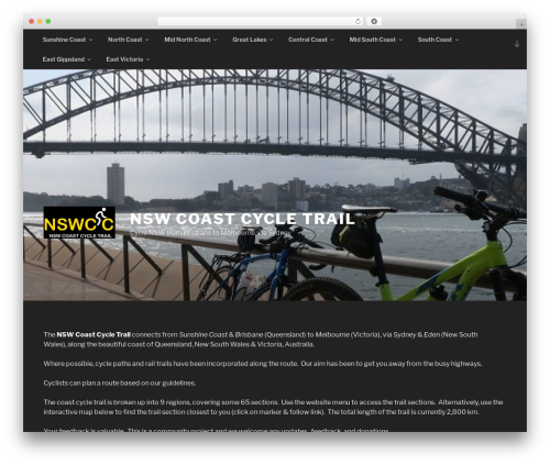 Twenty Seventeen WordPress theme - nswcoastcycle.com