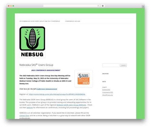 Twenty Twelve theme WordPress free - nebsug.org