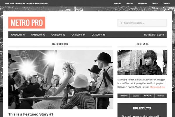 WordPress website template Nurse Plummer