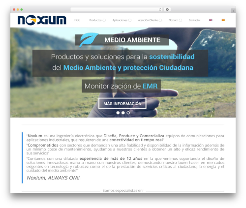 Do.Biz best WordPress theme - noxium.es