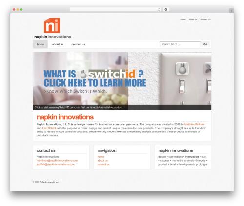 Responsive WordPress free download - napkininnovations.com
